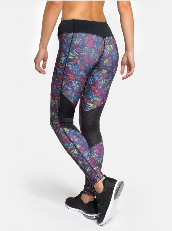 Peresvit Air Motion Women's Printed Leggings Triangle Curls
