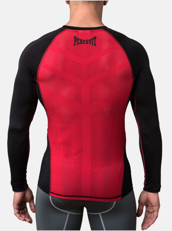Peresvit Air Motion Long Sleeve Black Red