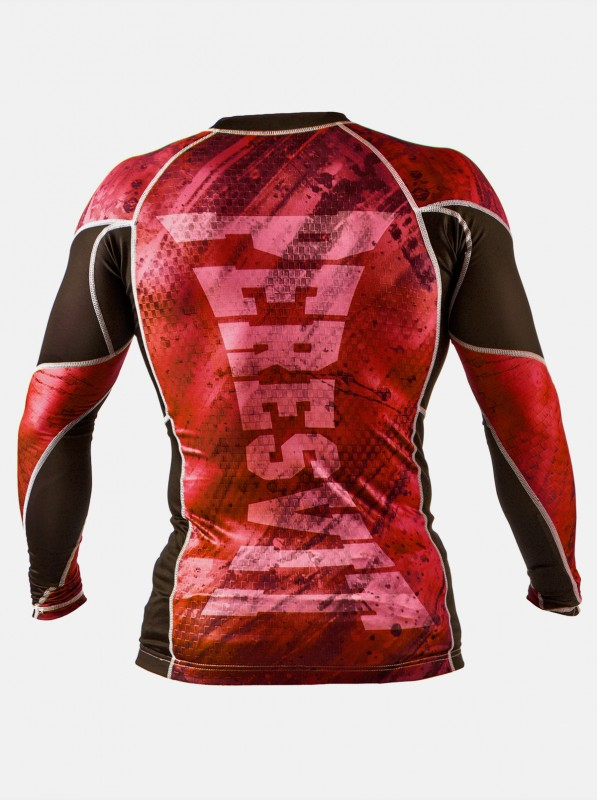 Peresvit Immortal Silver Force Long Sleeve Red Burn