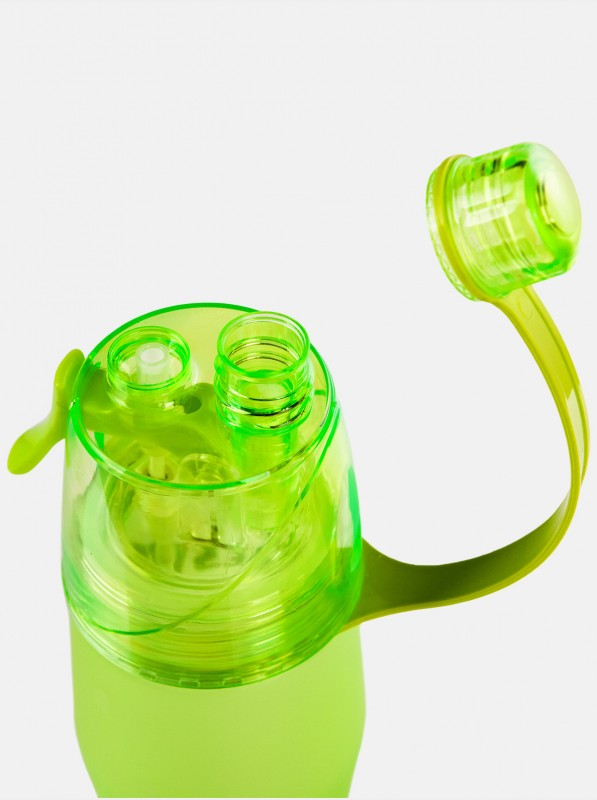 Peresvit 2xCool Spray Sport Bottle Dew Green